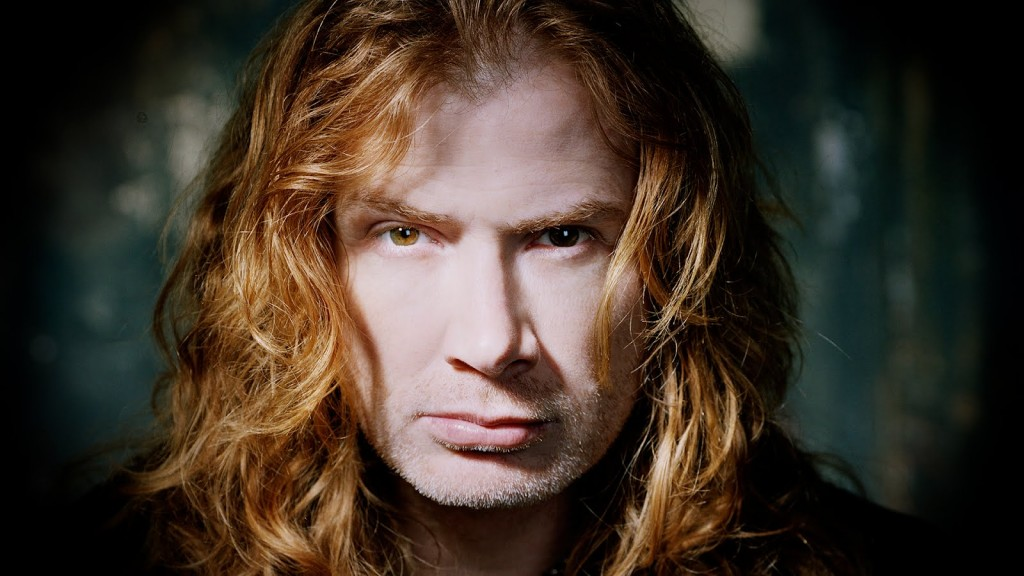 DAVE MUSTAINE Is This Year's 'Golden God'