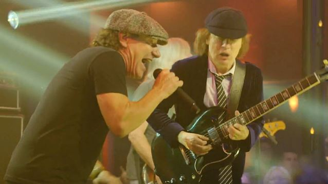 AC/DC Brian Johnson Angus Young