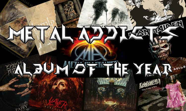 The Metal-Addicts Top 10 Albums of 2015