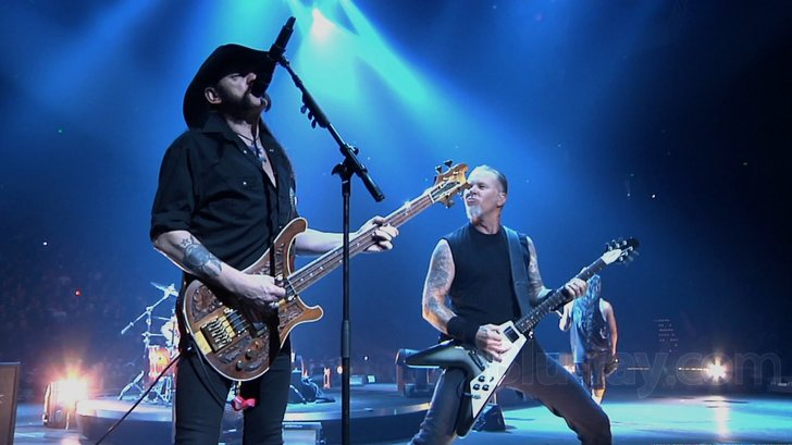 Lemmy and Metallica