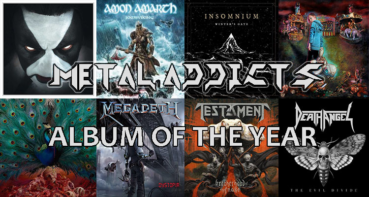 Vote for the Metal-Addicts' Top Albums of 2016!