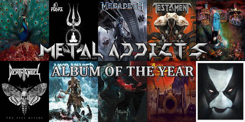 The Metal-Addicts' Top 10 Albums of 2016
