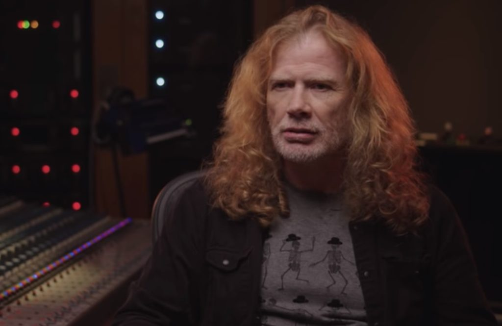 Megadeth Dave Mustaine Rust In Peace