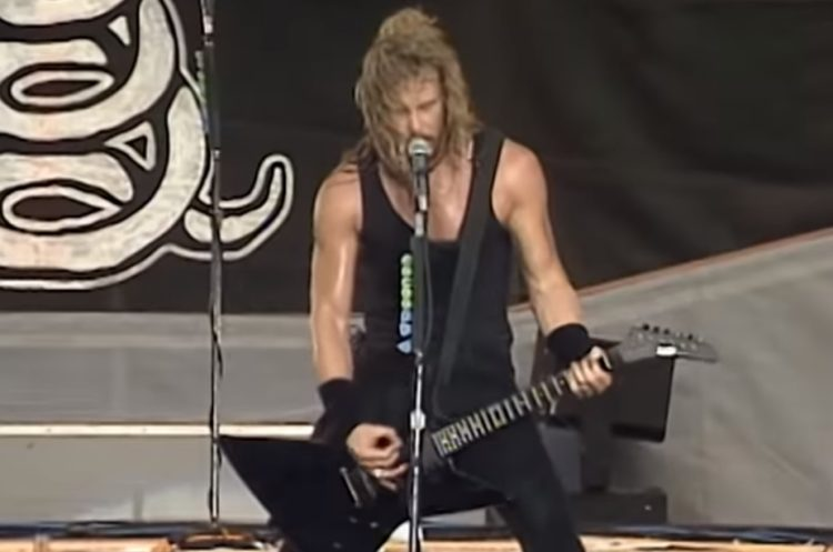 Metallica The Shortest Straw Live 1992
