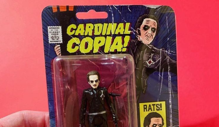 Cardinal Copia Action Figure