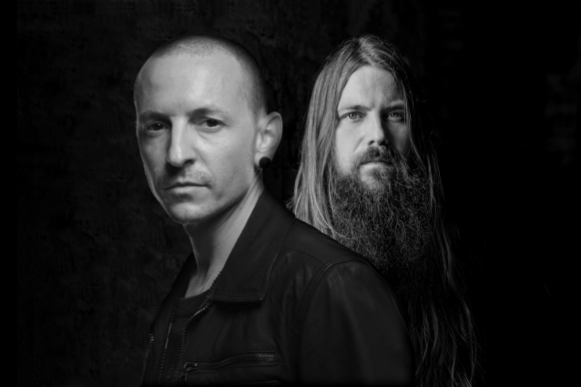 Chester Bennington Mark Morton