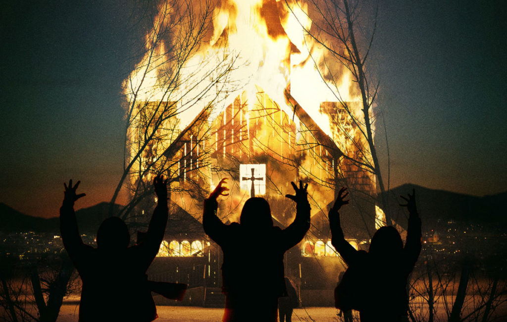 Lords of Chaos Church on Fire