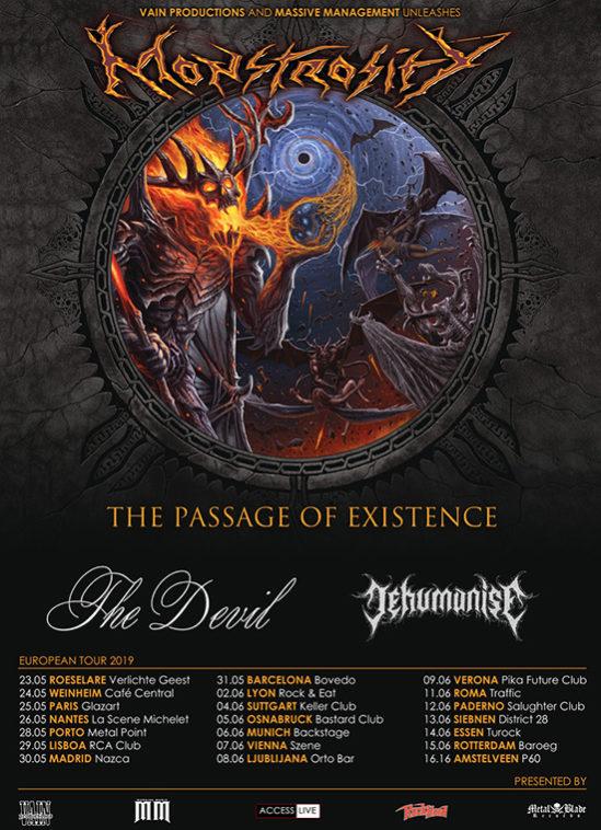 monstrosity europe tour 2019