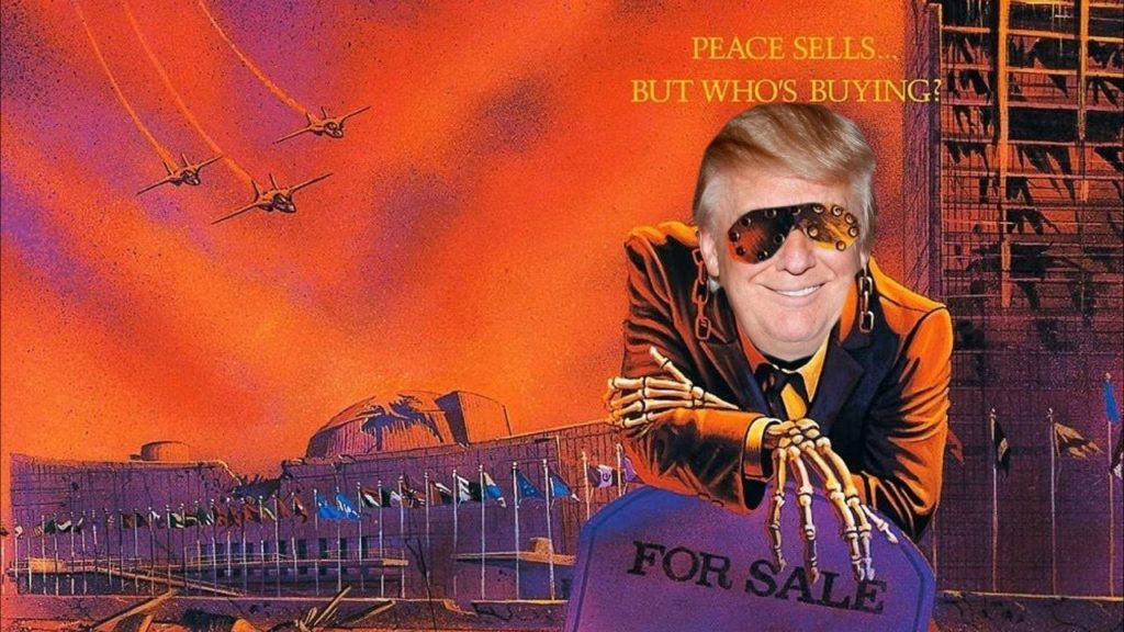 Peace Sells Donald Trump