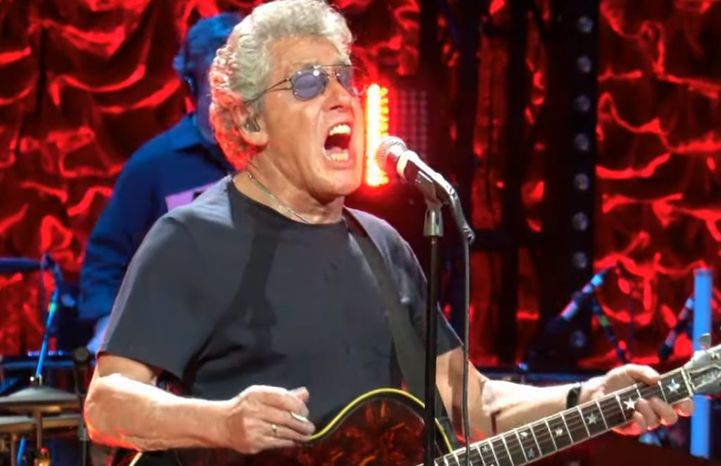 The Who Roger Daltrey