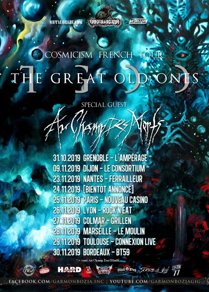 The Great Old Ones Europe Tour 2019