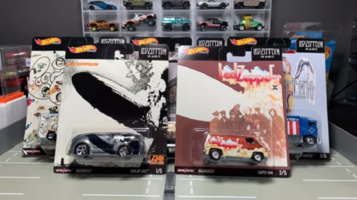 Led Zeppelin Hot Wheels