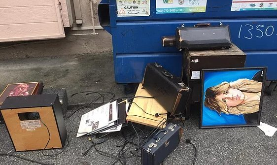 Stolen RANDY RHOADS Items
