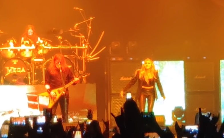 Megadeth With Electra Mustaine