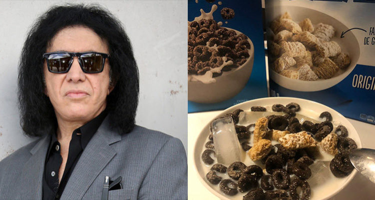 Gene Simmons Ice Cereal