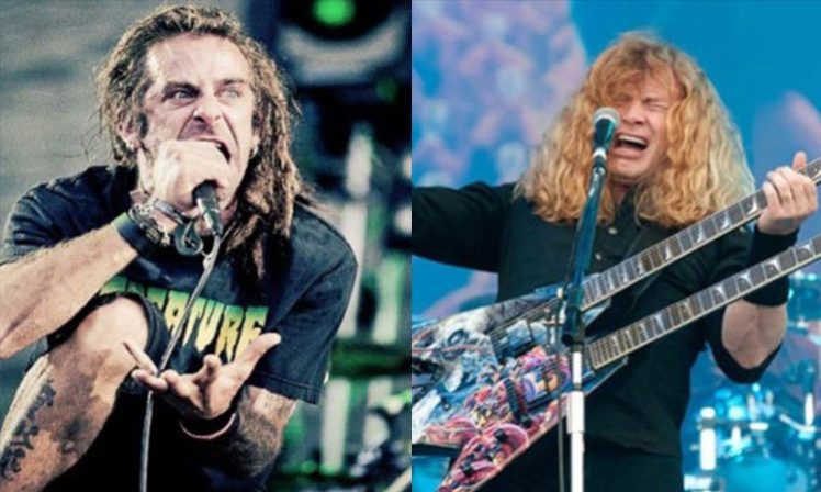 Lamb of God Megadeth