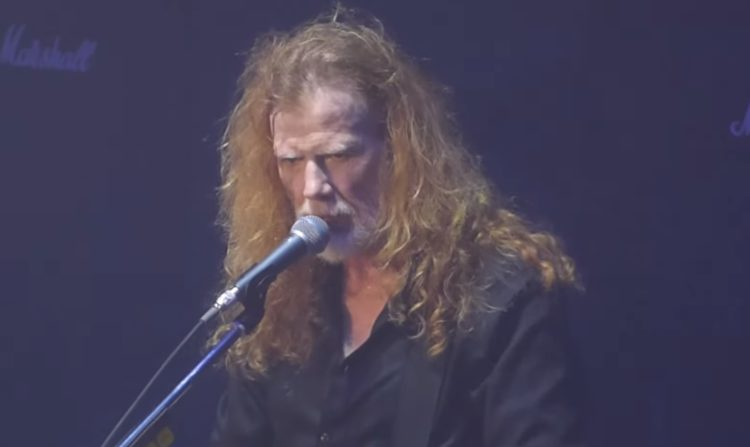 Dave Mustaine London 2020