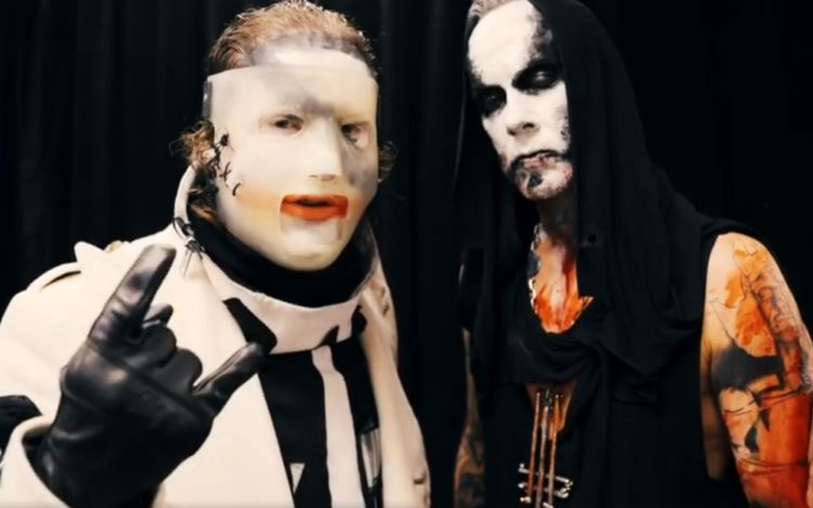 Corey Taylor and Nergal