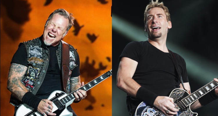 Metallica Nickelback