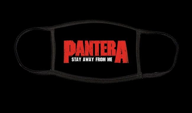 Pantera Stay Away From Me Face Mask