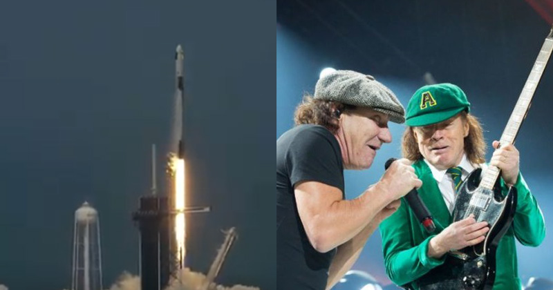 SpaceX Launch AC/DC