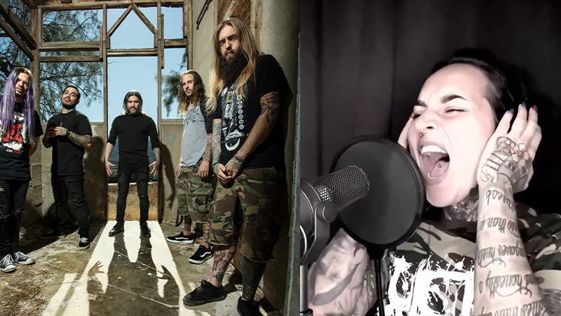 Suicide Silence Jinjer