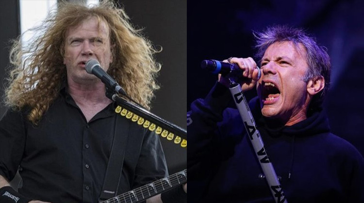 Dave Mustaine Bruce Dickinson