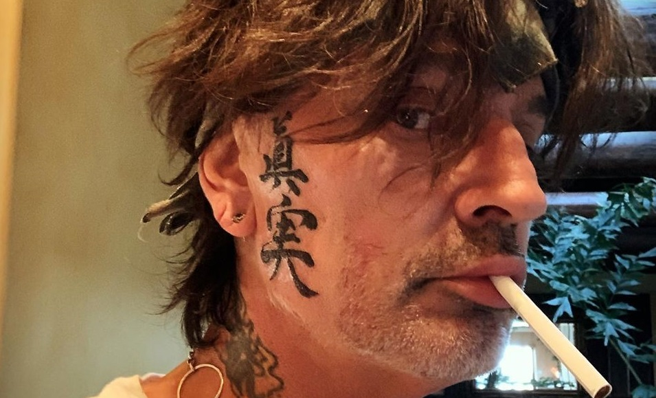 Tommy Lee Face Tattoos