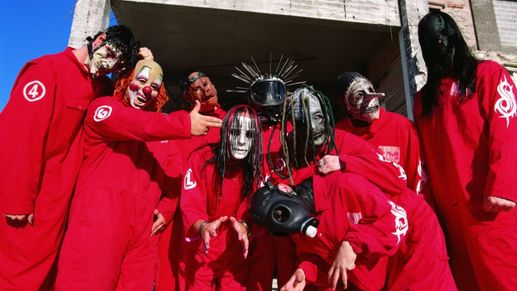 Slipknot 1999 Press Shot