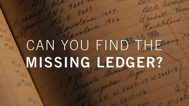 Gibson Missing Ledger