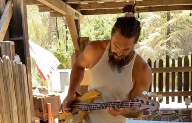 Jason Momoa Red Hot Chili Peppers