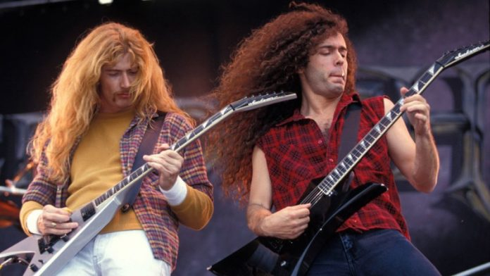 Dave Mustaine Marty Friedman