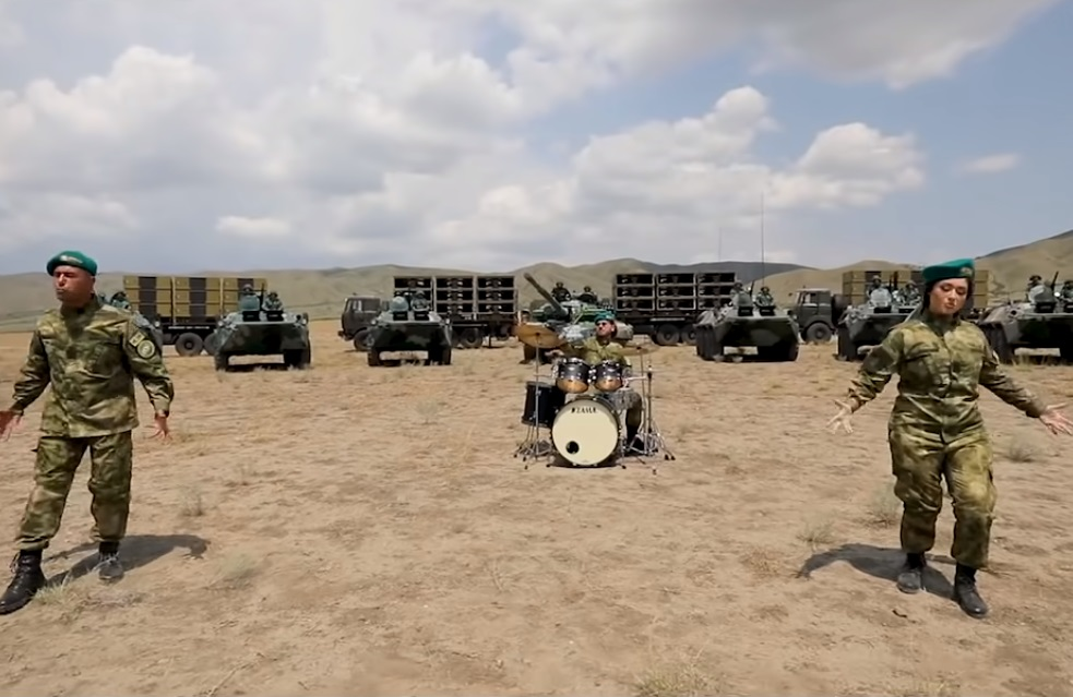 Azerbaijan military heavy metal song