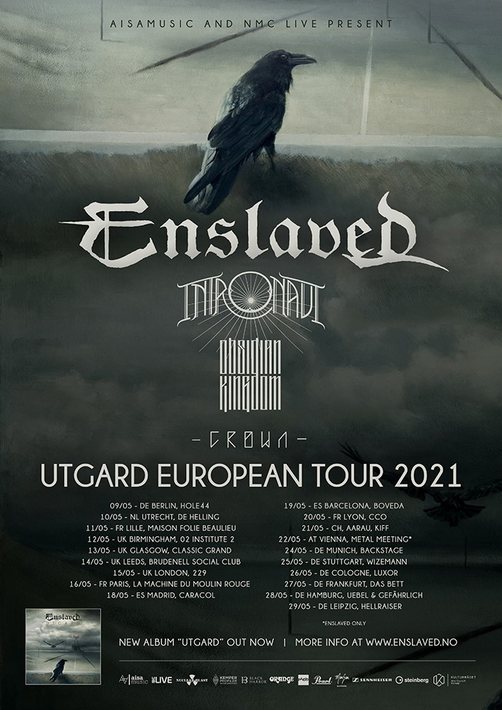 Enslaved European Tour 2021
