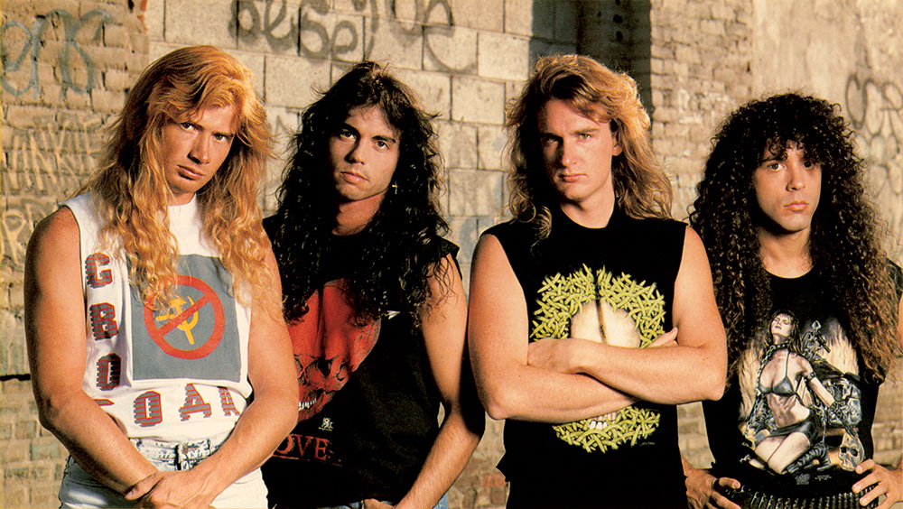 Megadeth Rust In Peace Line-up