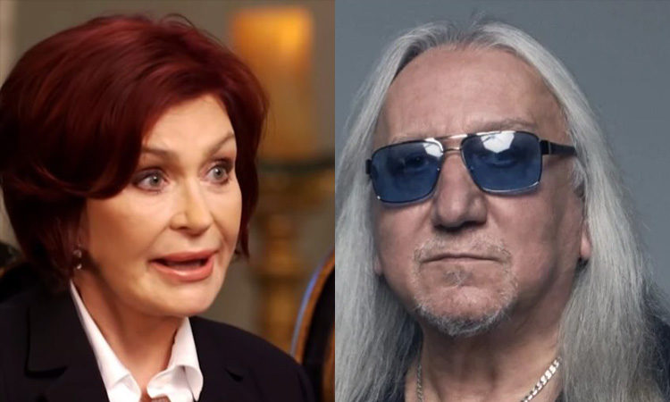 Sharon Osbourne Mick Box