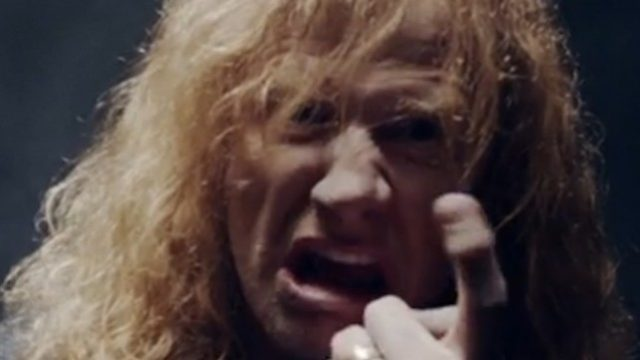 Dave Mustaine Angry