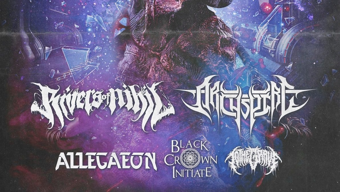 Rivers of Nihil Allegaeon European Tour 2021