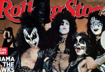 Kiss On Rolling Stone Cover