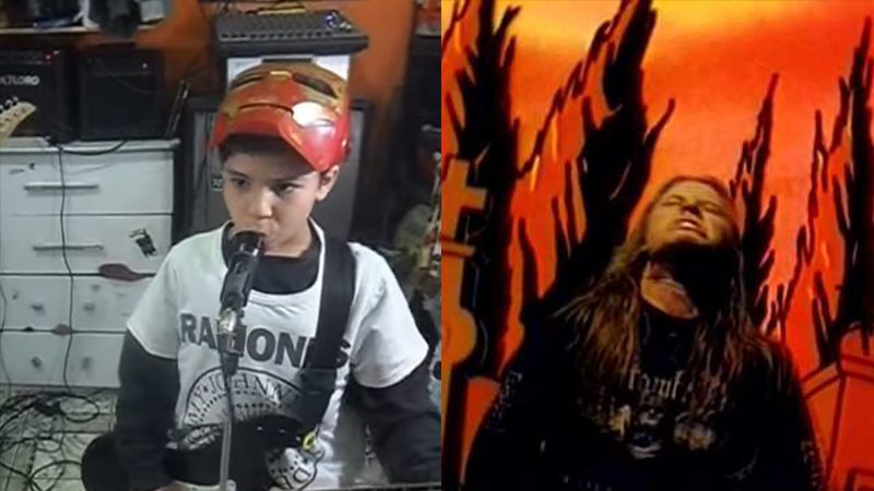 Kids Cover Entombed
