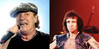 Brian Johnson Bon Scott