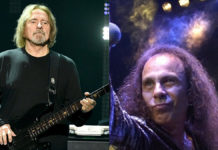 Geezer Butler Ronnie James Dio