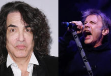 Paul Stanley Bruce Dickinson