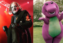 Slipknot Barney The Dinosaur