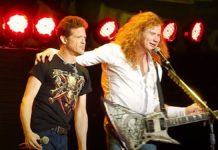 Jason Newsted Dave Mustaine