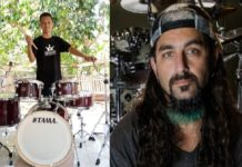 Mike Portnoy Gifts Drumset