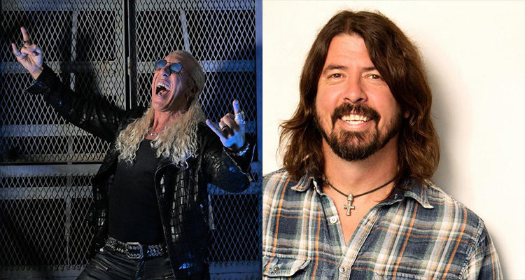 Dee Snider Dave Grohl