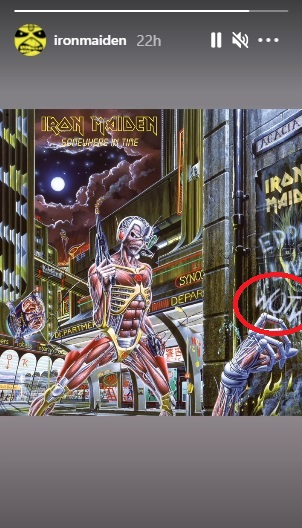 Iron Maiden Somewhere In Time Wotw