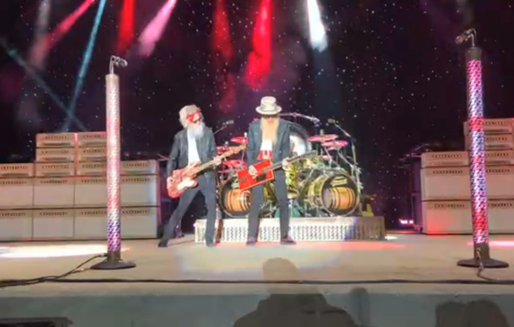 ZZ TOP First Show Without Dusty Hill