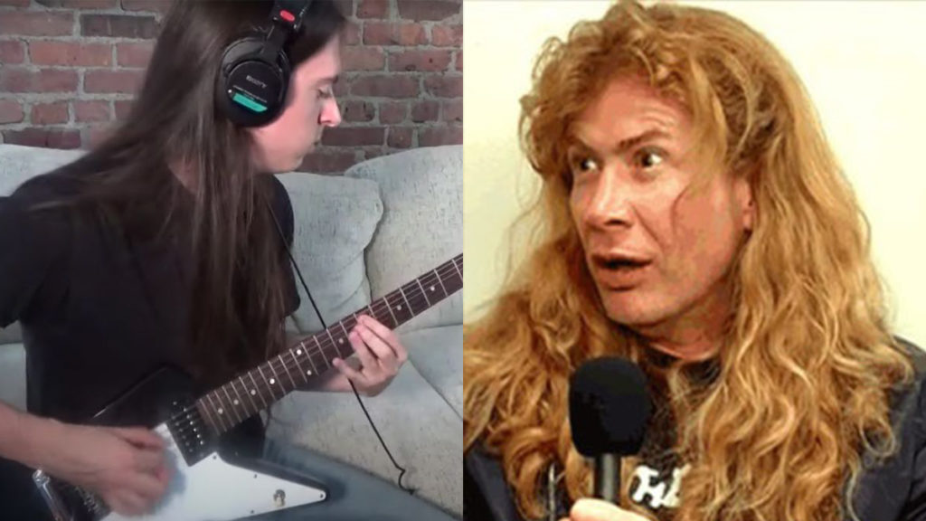 Guitarist Try To Record Megadeth Song